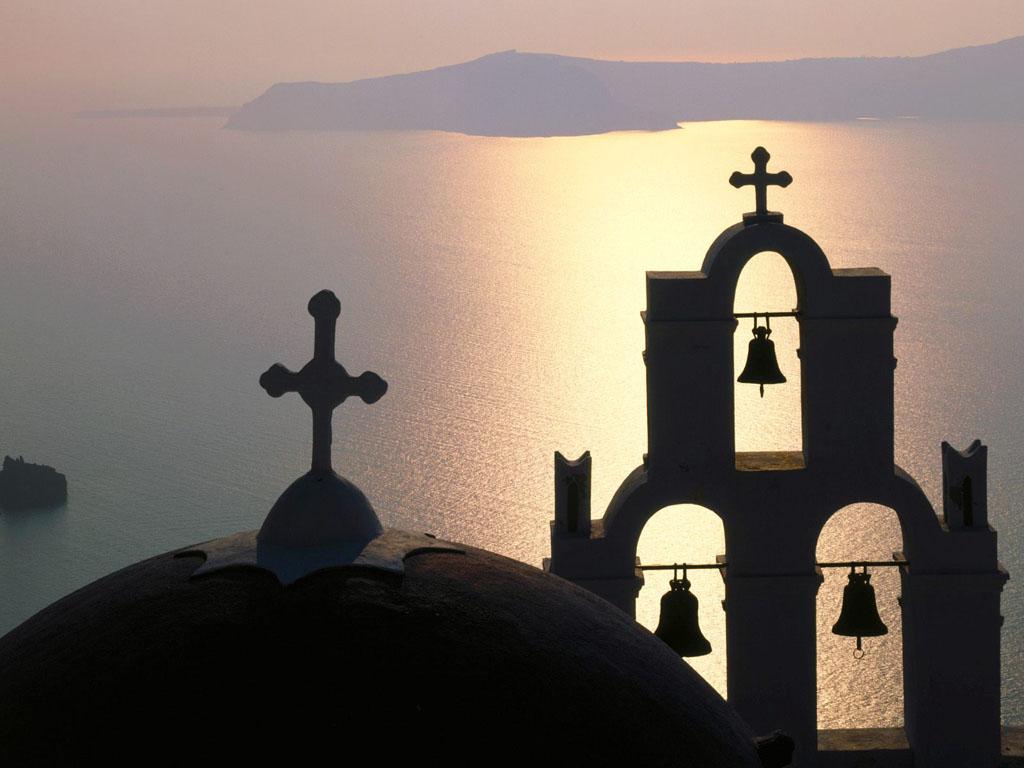 Sinos-Ilha-Thira-Grecia